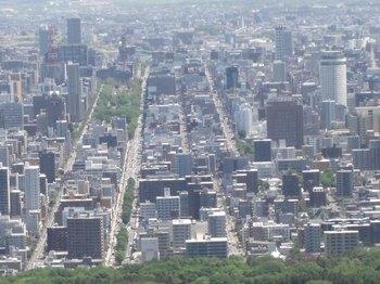 大倉山から札幌市街を.jpg